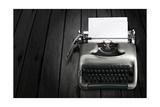 Antique Typewriter Prints by  Policas