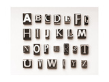 Alphabet Print by  Space-Heater