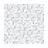 Gray Tiles Pattern Print by  pzAxe