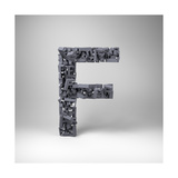 Letter F Prints by  badboo