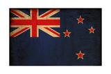 Vintage Flag Of New Zealand Prints by  ilolab