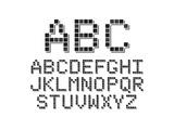 Pixel Font Poster by Avel Krieg
