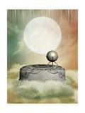 Pedestal In The Sky Lámina por  justdd