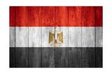 Flag Of Egypt Kunst af Miro Novak