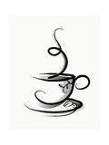 Coffee Prints by  illustrart