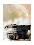 Fantasy Landscape Láminas por  justdd
