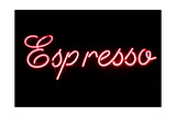 Espresso Neon Sign Posters by  gabe9000c