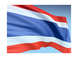 Thai Flag Prints by  bioraven