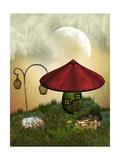 Fairy House Láminas por  justdd