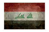Iraq National Flag Prints by Bruce stanfield