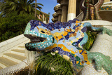 Park Guell In Barcelona, Spain Prints by  Danilin