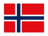 Flag Of Norway Prints by  Alessandro0770