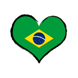 Heartland - Brazil Prints by  ultrakreativ