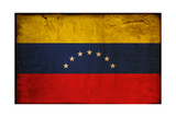 Vintage Flag Of Venezuela Prints by  ilolab