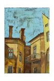 Old City Puildings Art by  Leks