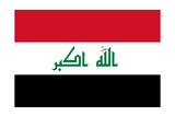 Iraq National Flag Posters by Bruce stanfield