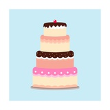 Cake Premium Giclee Print by  Rudall30