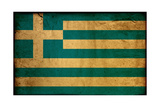 Vintage Flag Of Greece Posters by  ilolab