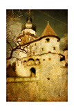 Dark Castle Print by  Maugli-l