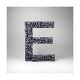 Letter E Posters by  badboo
