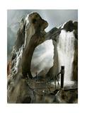Fantasy Landscape Pósters por  justdd