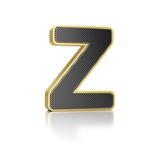 Letter Z Print by  badboo