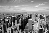 Midtown Manhattan Aerial View Photographic Print by  rebelml