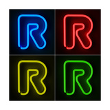 Neon Sign Letter R Prints by  badboo