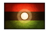 Flag Of Malawi Kunst af michal812