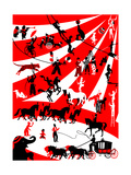 Circus Prints by  Milovelen