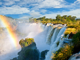 Iguazu Falls, One Of The New Seven Wonders Of Nature. Argentina Photographic Print by pablo hernan