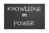 Knowledge Is Power Prints by  IJdema