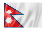 Nepalese Flag Prints by  daboost
