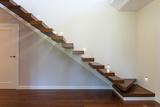 Bright Space - Modern Staircase Reprodukcja zdjęcia autor Kasia Bialasiewicz