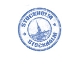 Stockholm Stamp Posters by  radubalint