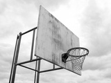 Basketball Hoop Print by  arenacreative