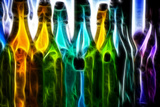 Bottles Digital Painting Posters by  rolffimages
