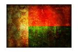 Flag Of Madagascar Poster by  michal812