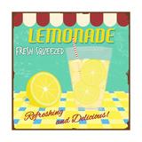 Lemonade Poster Posters af radubalint