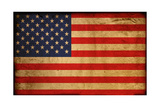 Vintage Flag Of America Prints by  ilolab