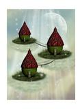 Fairy House Póster por  justdd