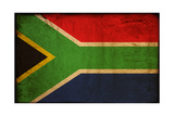 Vintage Flag Of South Africa Poster by  ilolab