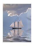 Sailboat On Water Plakater av  rolffimages