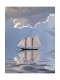 Sailboat On Water Posters by  rolffimages