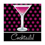 Cocktails! Affiche par  Piccola