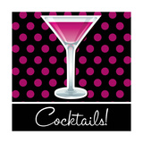 Cocktails! Print by  Piccola