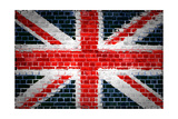Brick Wall Britain Posters by  Tonygers