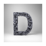Letter D Prints by  badboo