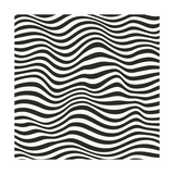 Striped Pattern Premium Giclee Print by  Magnia