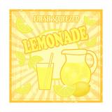 Lemonade Poster Giclee-tryk i høj kvalitet af  radubalint